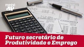 Futuro secretário de Produtividade e Emprego estima PIB de 5% no Brasil em 2020