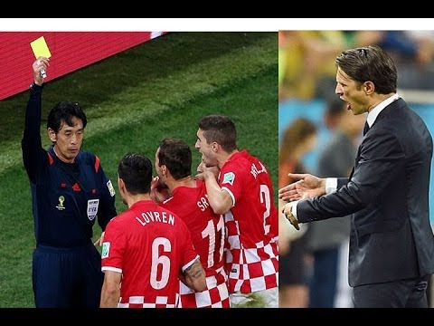 Niko Kovac Rages at Referee Yuichi after Croatia Lose to Brazil in World Cup Opener in Sao Paulo!!!