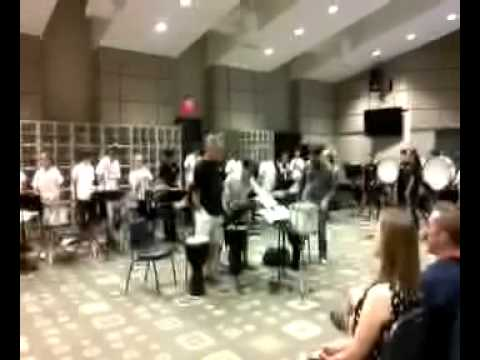 Sounds of Summer Percussion Camp at Glenpool High School 2013