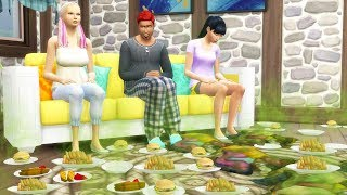 I Built a House That is So Dirty it Kills People - The Sims 4