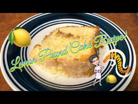 Cook With Me | Lemon Pound Cake Recipe