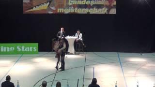 Anja Gentner & Christian Gartmeier - LM Baden-Württemberg & Hessen 2017