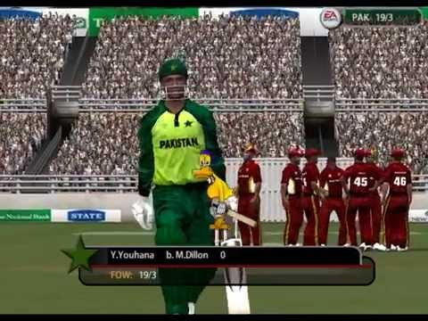 Pakistan VS West Indies Cricket World Cup Match 2015,HIGHLIGHTS EA Sports Channel