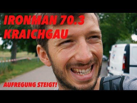 Ironman 70.3 Kraichgau Streckencheck, Schwimmen und die Aufregung steigt