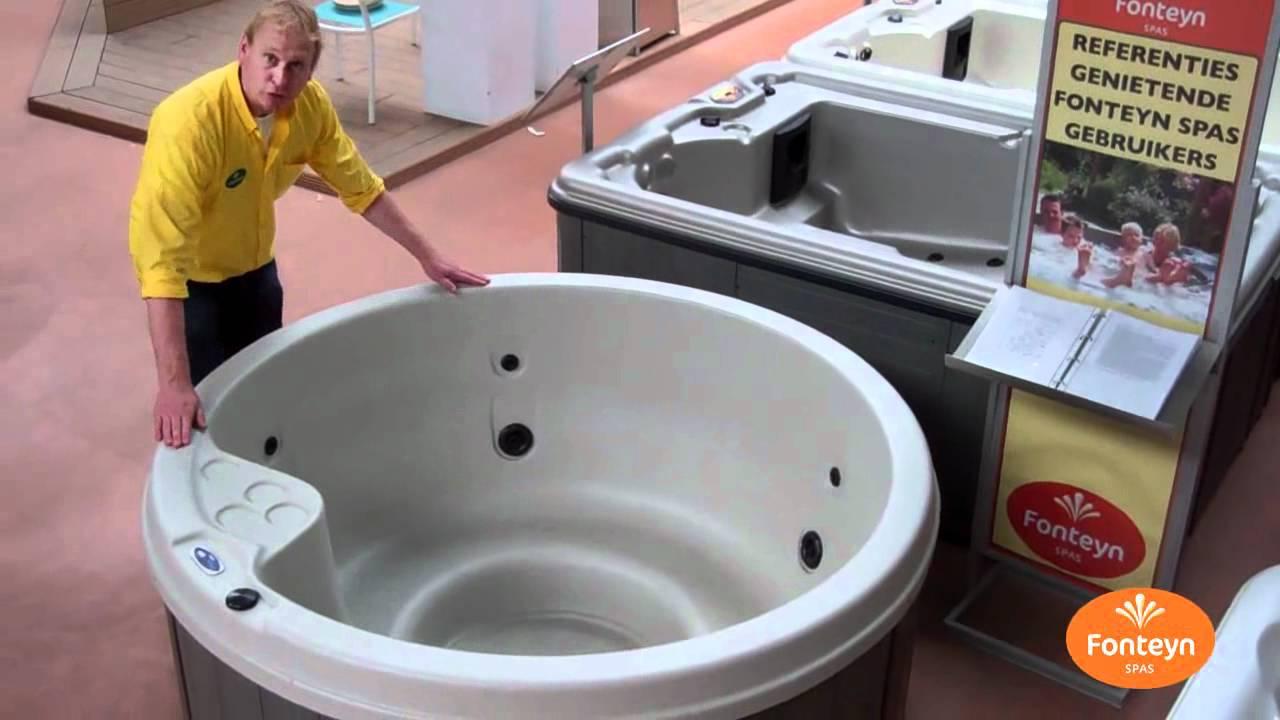 video spa cannes ronde jacuzzi cannes 4 5 personen youtube. Black Bedroom Furniture Sets. Home Design Ideas