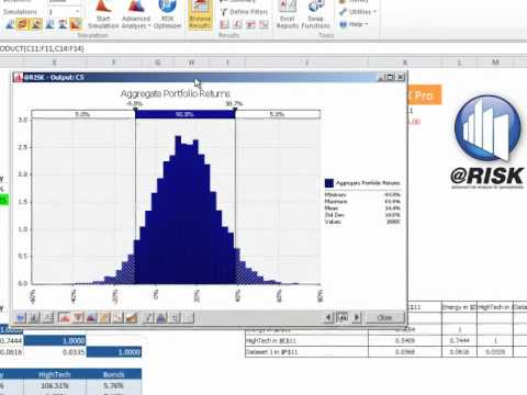 Excel Simulation Show Down III : Correlating Distributions with Palisade @RISK