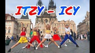 "[K-POP IN PUBLIC - Prague] ITZY - ""ICY"" | Monster Crew dance cover"