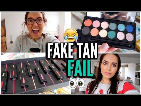 FAKE TAN FAIL & P.O Box Haul!