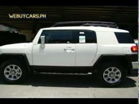 2012 Toyota FJ Cruiser US Version Philippines Best Buy - WEBUYCARS.PH