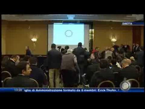 Conferenza Stampa Erick Thohir & Massimo Moratti 15/11/2013