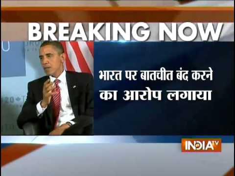 US Prez Obama phones Pakistan PM after announcing India trip