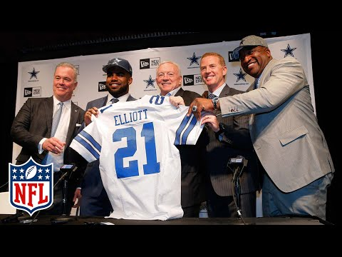 Cowboys Introduce Ezekiel Elliott (RB) | Full Press Conference | 2016 NFL Draft