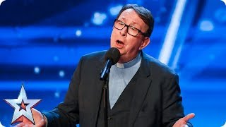 Download Lagu Father Ray Kelly takes us to church with AMAZING version of 'Everybody Hurts' | Auditions | BGT 2018 Gratis STAFABAND