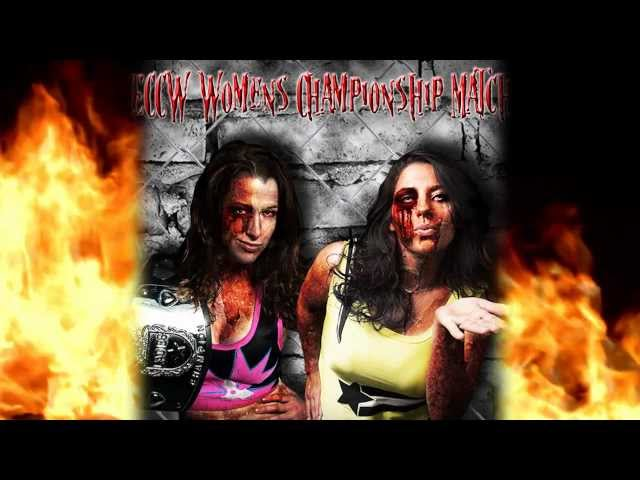 ECCW Presents: Halloween Hell - ECCW Women's Championship Nicole Matthews vs. KC Spinelli