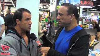 Francis Benfatto Interviewed & Posing At The 2013 IFBB FIBO