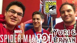 Spider-Man PS4: 101 - Marvel's Spider-Man Q&A w/ Yuri Lowenthal & Bryan Intihar at SDCC 2018!!!