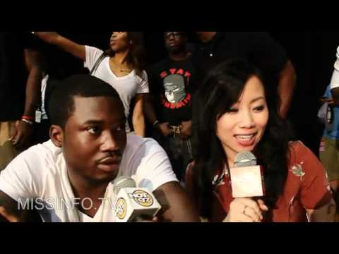 Meek Mill Reacts To Chris Brown's Drake Diss Music Videos