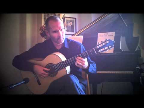 Lagrima by Francisco Tarrega played on a spruce and European maple Jason Wolverton classical guitar.