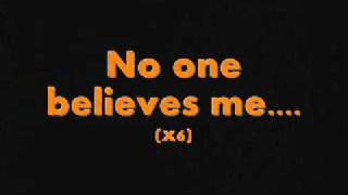 Watch Kid Cudi No One Believes Me video