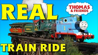 REAL Thomas the Train Video | Thomas the Tank Engine Train Video for Kids