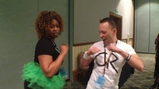 Twerking & kissing at Playlist Live with Glozell, Tobuscus, PrankVsPrank & more!