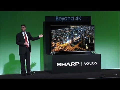 Sharp debuts 'Beyond 4K' Ultra HD TV