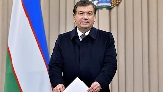 Uzbekistan election: acting president expected to win easily