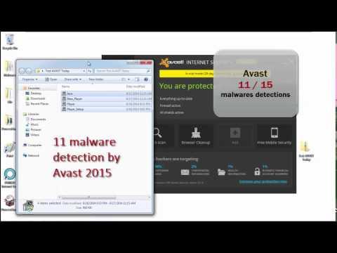 PERISAI   AVAST VS Malwares