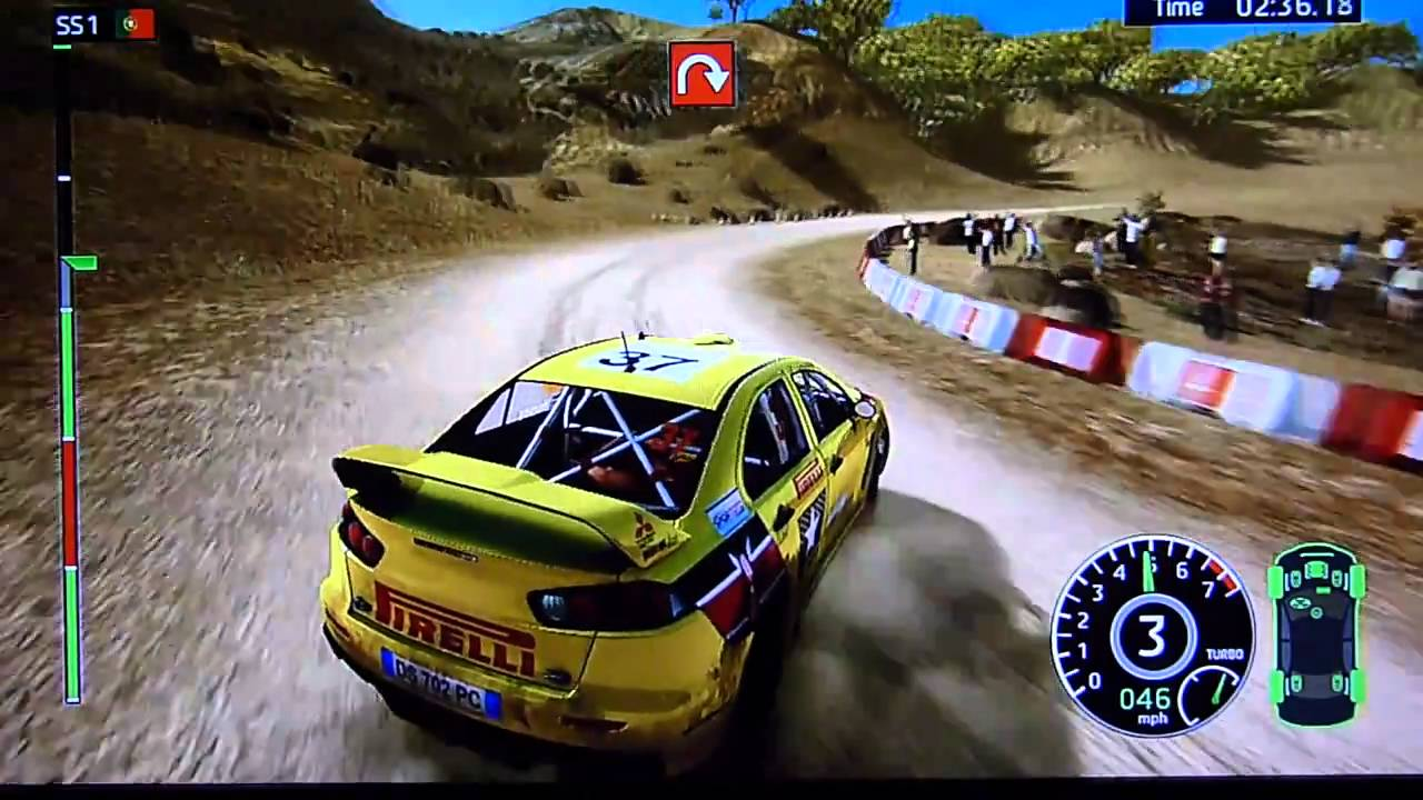 wrc fia world rally championship xbox 360 gameplay. Black Bedroom Furniture Sets. Home Design Ideas