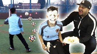 FORFEIT FOOTBALL CHALLENGE | TASH BALLER VS MY DAD!!