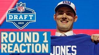 2019 NFL Draft Round 1 Reaction amp Analysis Jones to Giants, Haskins to Washington amp More