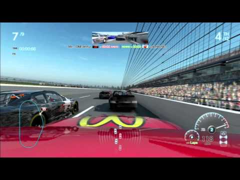 NASCAR the game Inside Line Online race @Talladega #184