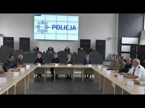 Minister Mariusz Błaszczak Otworzył Centrum Operacyjne Policji W Częstochowie