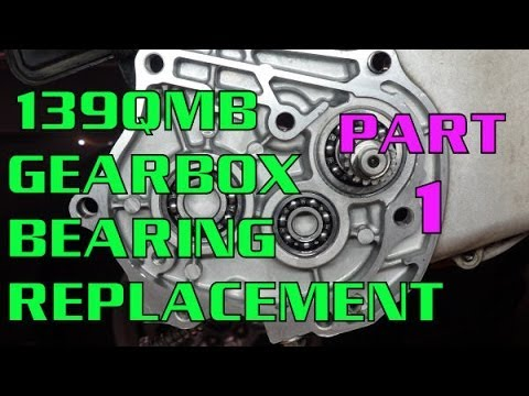 139QMB Gearbox Bearing Replacement Part 1 (GY6 50cc Scooter)
