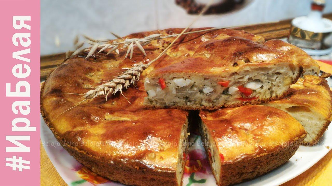 очень вкусный заливной пирог с капустой