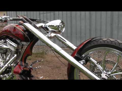 "Chopper Motorcycle ""No Name"" Rat Shop - CRANK IT UP"