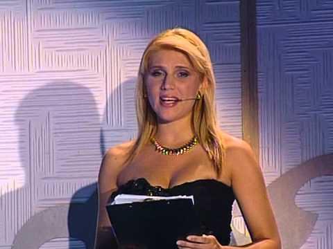 Marina Pelemiš u programu @ Miss BiH 2007