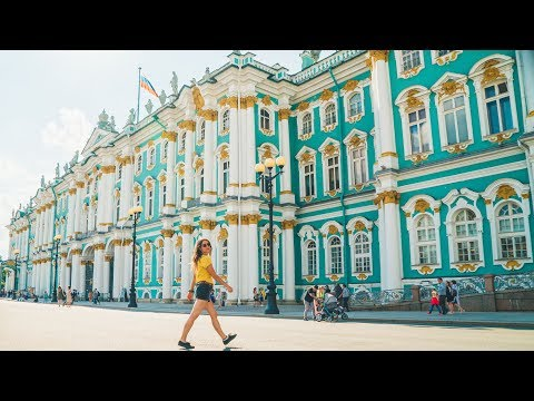WOW!! Summer in ST. PETERSBURG RUSSIA