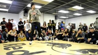 Bboy Diss vs. Bboy ATN | Floor Masterz USA 2012