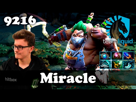 Miracle Pudge   9216 MMR Dota 2