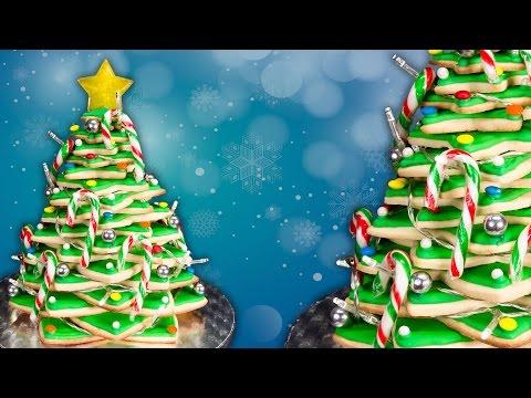 Sugar Cookie Christmas Tree - Karácsonyfa aprósütemény