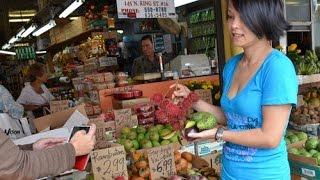 Buôn bán nhỏ ở Chợ Tàu, Hawaii