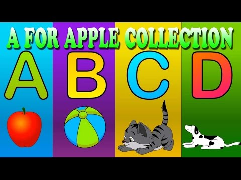 A for Apple Nursery Rhymes Collection - Children Rhymes Video Songs