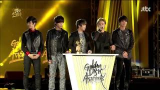 130119 27th Samsung Galaxy Golden Disk Awards Bosang FTISLAND Winning Speech