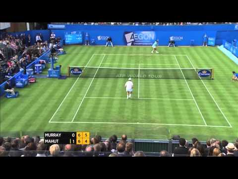 This is a highlights package for Day 3 of the AEGON Championships. - GV Queens - Edouard Roger-Vasselin (FRA) v Andy Roddick (USA) match action - Nicolas Mah...