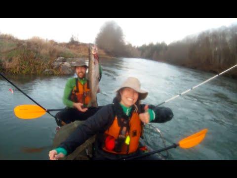 Packraft Steelhead Fishing & Float Adventure