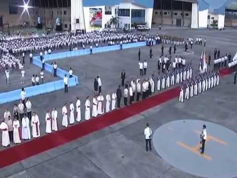 Arrival in Manila of His Holiness Pope Francis 1/15/2015