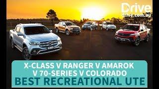 Ute Comparison: 2018 Ranger v X-Class v Amarok v Colorado v 70-Series