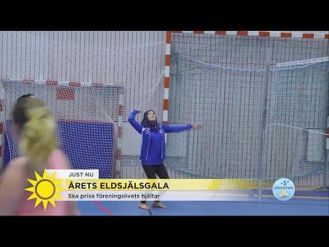 Hon hjälper ensamkommande att integreras - genom volleyboll - Nyhetsmorgon (TV4)