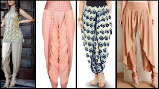 NEW Style Salwar / Shalwar Designs   Dhoti / Patiala / Trouser / lungi / tulip salwar designs 2017
